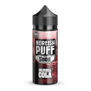 Original Cola 100 ml tekočina Shortfills By Moreish Puff Soda