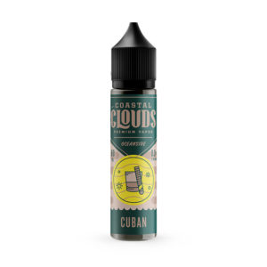 Cubansk 50 ml flydende Shortfills By Coastal Clouds Oceanside