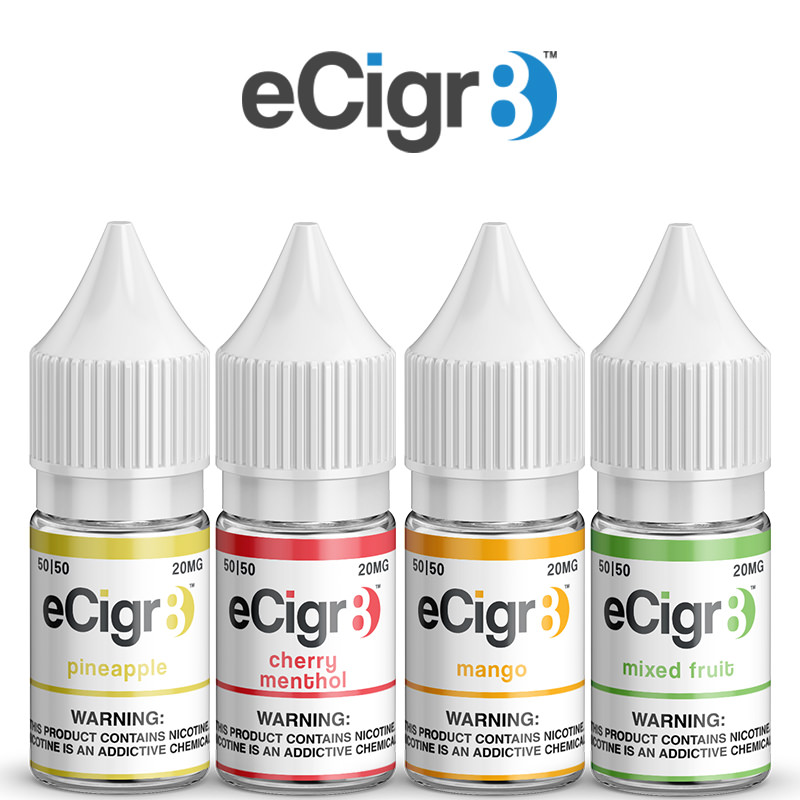ECIGR8 Nic Salts E-Liquid