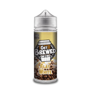 Flat White 100ml E Liquid Shortfills By Get Brewed Moreish Puff