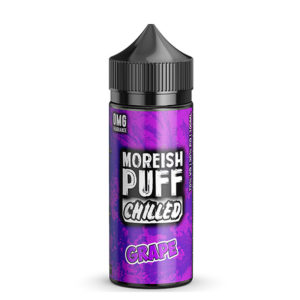 Uva 100ml eliquid Shortfills Por Morish Puff Chilled