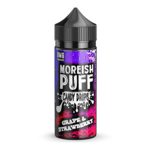 Druif Aardbei 100ml Eliquid Shortfill Door Morish Puff Candy Drops