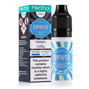 Heisen Lady 10ml Nicotine Salt Eliquid By Dinner Lady Zouten
