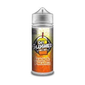 Lemon And Pinapple 100ml Eliquid Shortfills By Get Slushed Morish Puff