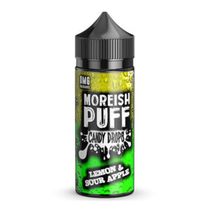 Lemon Sour Apple 100ml Eliquid Shortfill Av Morish Puff Candy Drops