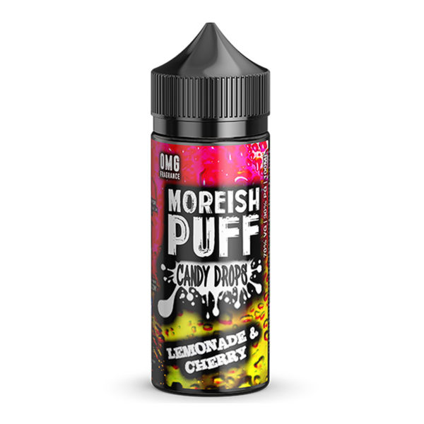 Lemonade Cherry 100ml Eliquid Shortfill By Morish Puff Candy Drops