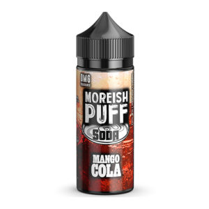 Eliquid Mango Cola 100ml Shortfills By Moreish Puff Soda