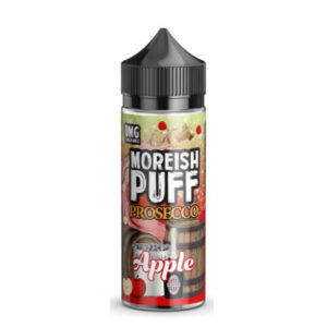 moreish puff prosecco jabolko 100 ml tekočine shortfill steklenica