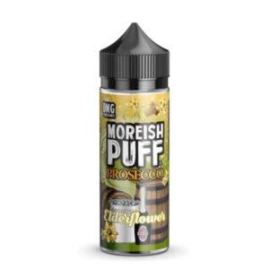 moreish puff prosecco bezgov cvet 100 ml tekočine shortfill steklenica