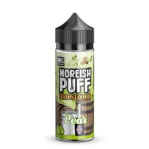 moreish puff prosecco hruška 100 ml tekočina shortfill steklenica