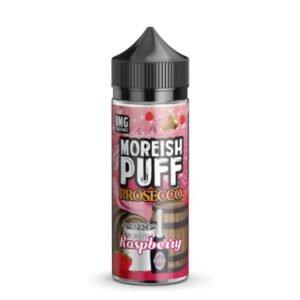 moreish puff prosecco malina 100 ml tekočina shortfill steklenica