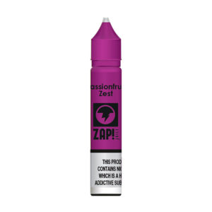 Passionfruit Zest 10ml Nic Salt Eliquid Eftir Zap Juice