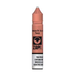 Peach Ice Tea 10 ml Nic Salt Eliquid By Zap Juice