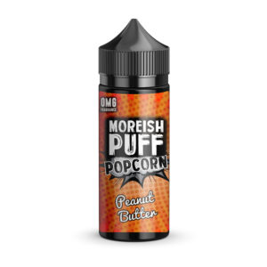 Peanut Butter 100ml Eliquid Shortfill By Moreish Puff Popcorn