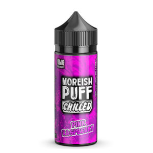 Elíquido de Framboesa Rosa 100ml Shortfills Por Morish Puff Chilled
