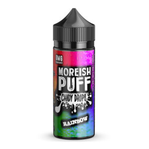 Rainbow 100ml Eliquid Shortfill Eftir Morish Puff Candy Drops