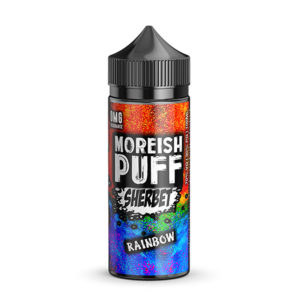 Rainbow 100ml Eliquid Shortfills By Moreish Puff Sherbet