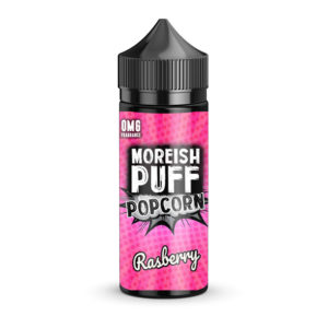 Hindberjum 100ml Eliquid Shortfill By Moreish Puff Popcorn