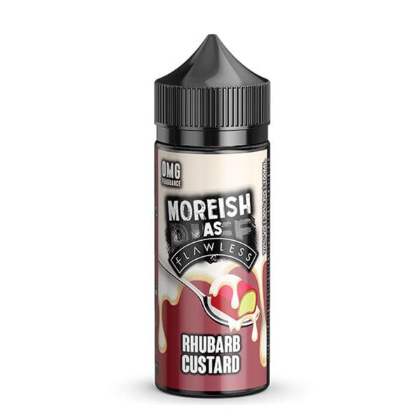 Rhubarb Custard 100ml Eliquid Shortfills By Moreish As Flawless Custard
