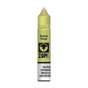 Snow Pear 10ml Nic Salt Eliquid By Zap Juice