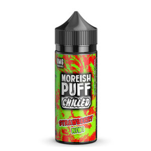 Strawberry Kiwi 100ml Eliquid Shortfills Af Morish Puff kølet
