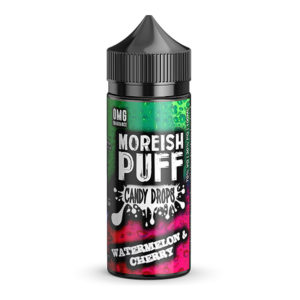 Vattenmelon Cherry 100ml Eliquid Shortfill Av Morish Puff Candy Drops