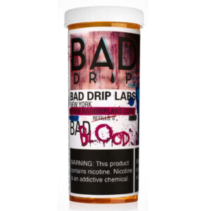 Bad Blood 50 ml Eliquid Shortfill Bottle By Bad Drip