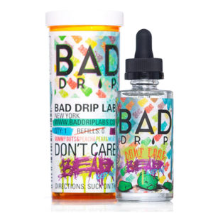 Dont Care Bear Iced Out 50ml Eliquid Shortfills By Bad Drip