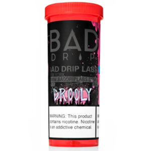 Drooly 50ml Eliquid Shortfill flaska eftir Bad Drip