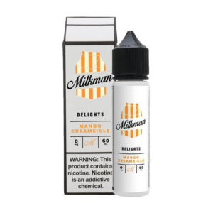 Mango Creamsicle 50 ml Eliquid Shortfills By The Milkman