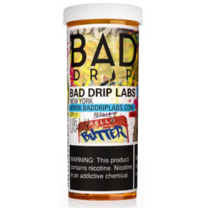 Ugly Butter 50ml Eliquid Shortfill Bottle By Bad Drip