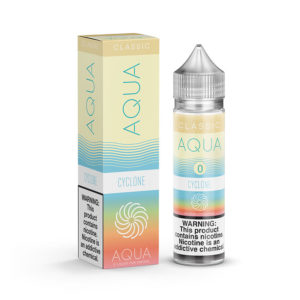 Ciklons 50ml Eliquid Shortfills By Aqua Classic Diapazons