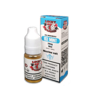 Ice Mint Nicotine Salt Eliquid By Lucky 7 Eliquid Salts