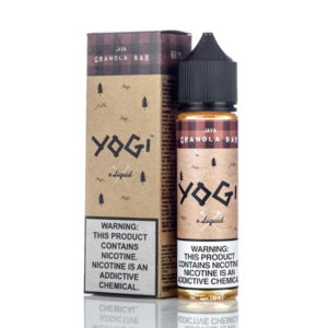 Java 50ml E Liquid Shortfills By Yogi Granola Bar Range