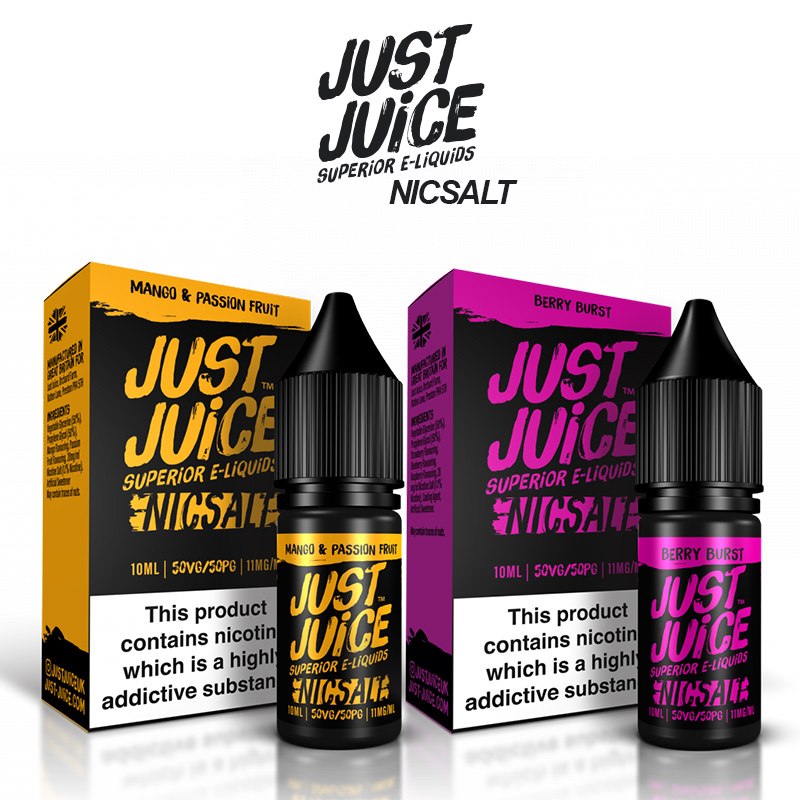 Just Juice Nicotine Salt E-Liquids