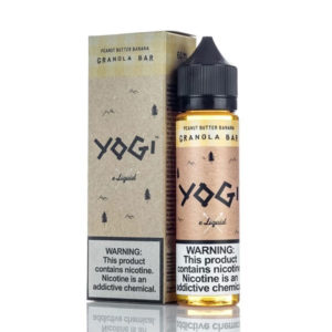 Peanut Butter Banana 50ml E Liquid Shortfills By Yogi Granola Bar Range