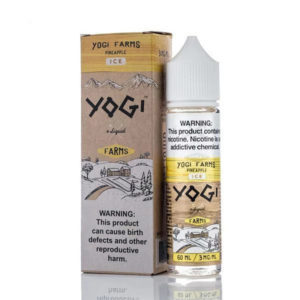 Pineapple Ice 50ml E Liquid Shortfills By Yogi Farms Ice Range
