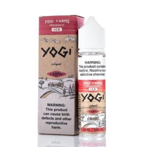 Granatäppleis 50 ml E flytande Shortfills By Yogi Farms Ice Intervall
