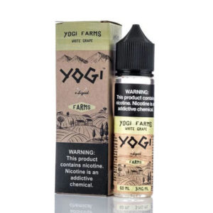 Baltās vīnogas 50ml E šķidrums Shortfills By Yogi Farms Diapazons