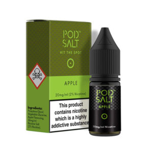 Apple 10ml nikotinske solne tekočine By Pod Salt Core Collection