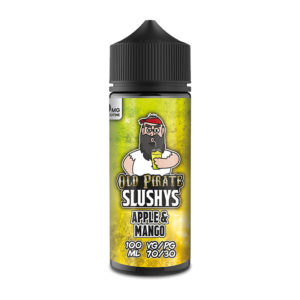 Apple и Mango 100ml Eliquid недостатъци от Old Pirate Slushys