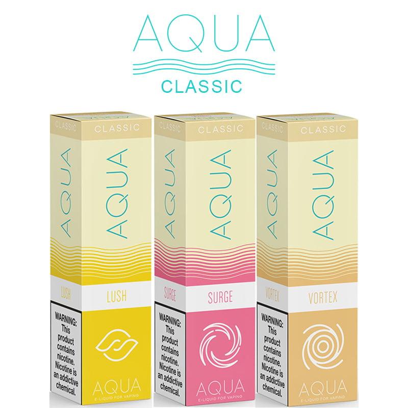 Aqua Classic Shortfills