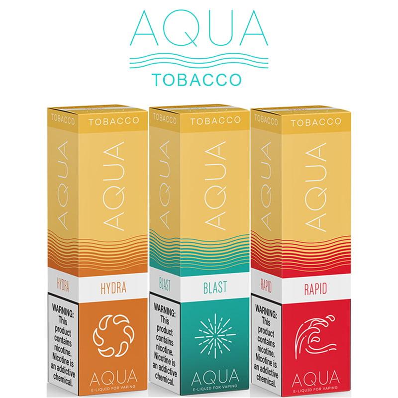 Aqua Tobacco Shortfills