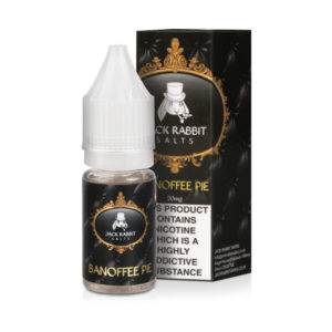 Banoffee Pie Nicotine Salt Eliquid By Jack Rabbit Vapes