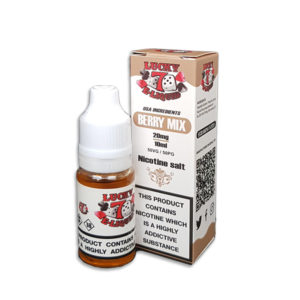 Berry Mix Nicotine Salt Eliquid By Lucky 7 Eliquid Salts