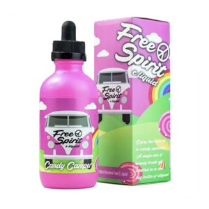 Candy Camper 100ml Eliquid Shortfill By Free Spirit
