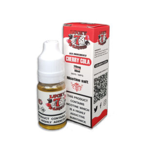 Cherry Cola Nicotine Salt Eliquid By Lucky 7 Eliquid Salts