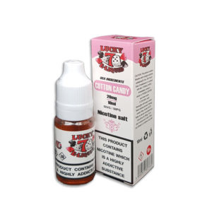 Cotton Candy Nicotine Salt Eliquid By Lucky 7 Eliquid Salts