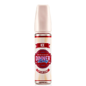 Flip Flop Lychee Ice 50ml Flüssige Shortfills von Dinner Lady Ice