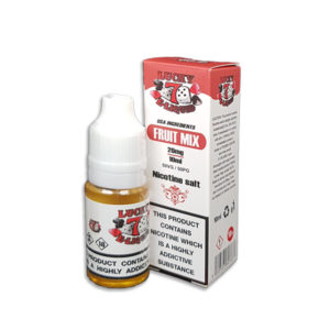 Fruity Mix Nicotine Salt Eliquid By Lucky 7 Eliquid Salts